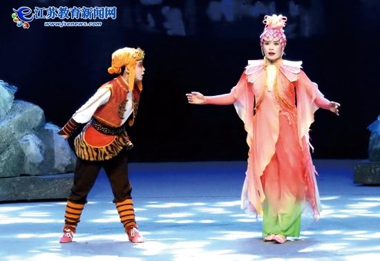 《寻找花果山》在连云港首演成功